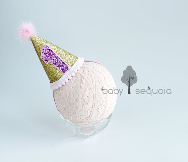 Baby Sequoia Birthday Hat