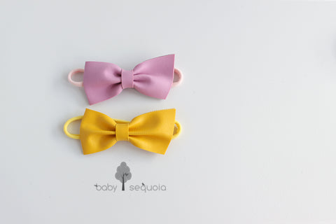 Baby Sequoia Dainty Bow Headband