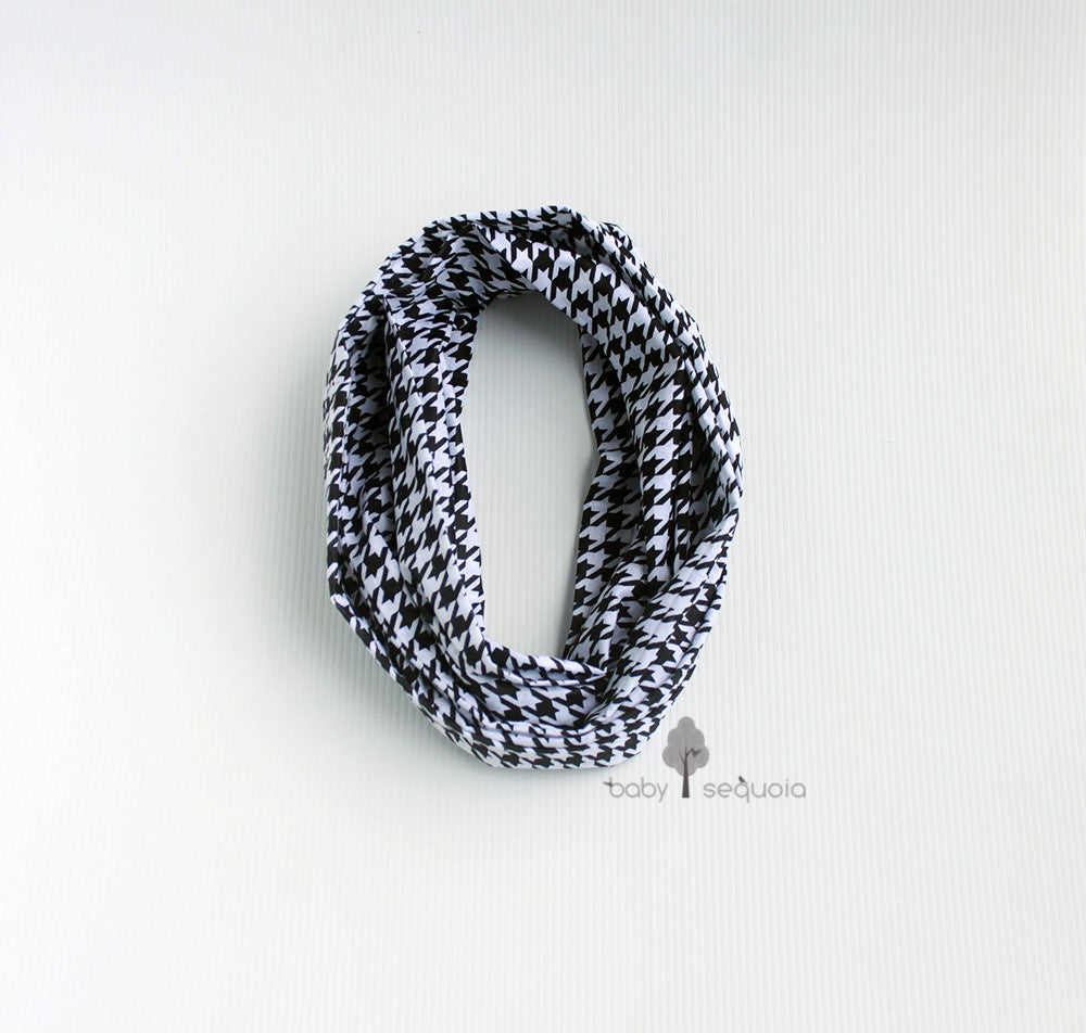 Baby Sequoia Houndstooth Infinity Scarf