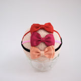 Mini basic bow headband