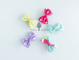 Baby Sequoia School Bow