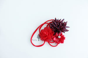 Baby Sequoia Pamela headband set