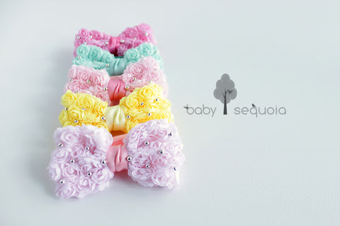 Baby sequoia : Pearly petite bow