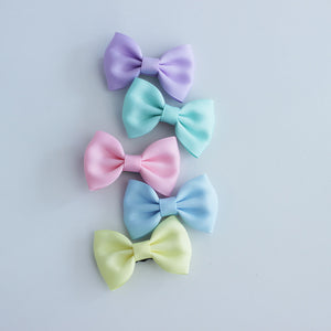 Baby Sequoia Solid Basic Bow Set