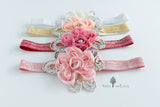 Baby Sequoia Shabby Rose #18 headband