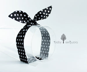 Baby Sequoia Bunny Tie-up - Basic (Polka & Stripe)