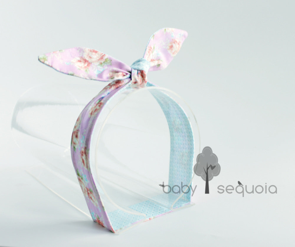 Baby Sequoia Bunny Tie-up Vintage Rose series