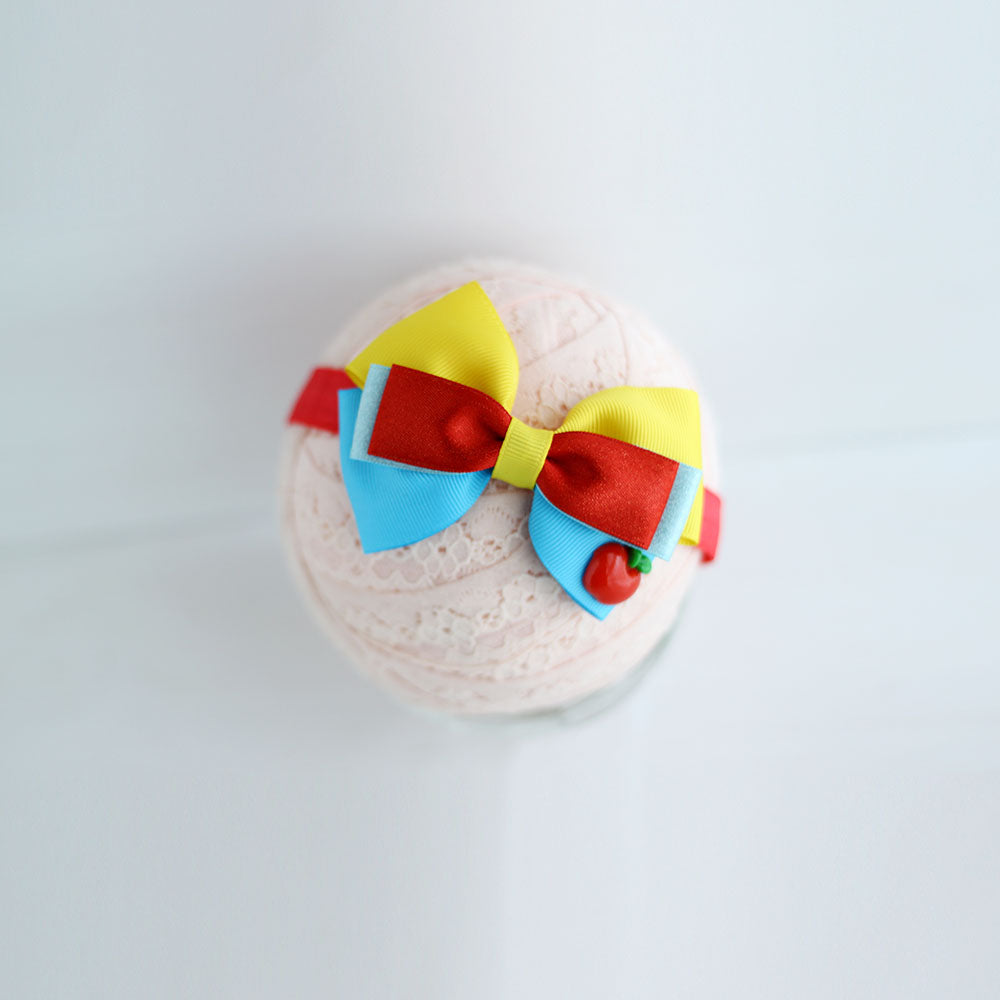 Snow white headband