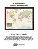 World Travel Map Gift PDF