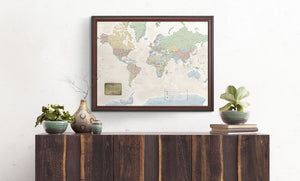 World Traveler Map