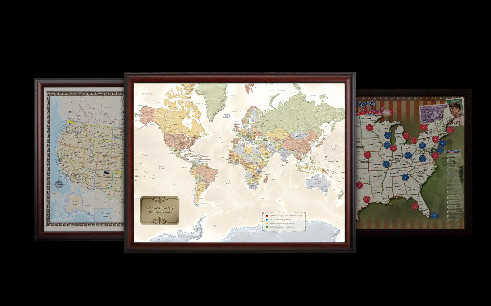 Mapyourtravels home of the original travel map series the original traveler map series gumiabroncs Choice Image