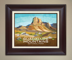 Guadalupe National Park Print
