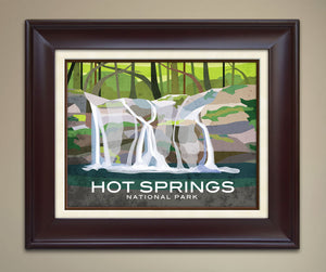 Hot Springs National Park Print
