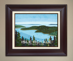 Isle Royale National Park Print