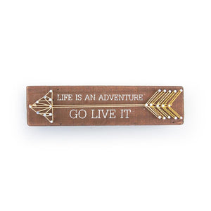 Life is an Adventure String Art Travel Decor