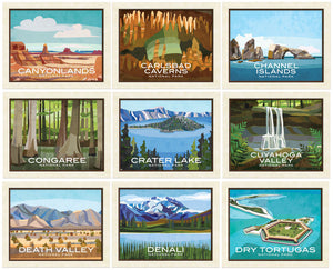 National Parks Prints - Print Only
