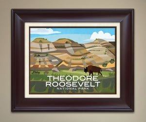 Theodore Roosevelt National Park Print
