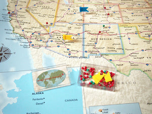 Personalized US Traveler Map