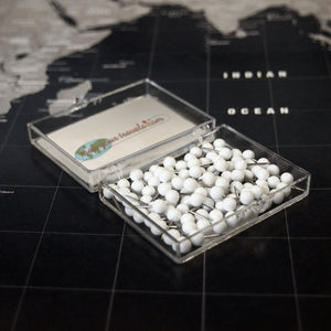 White Pin Set for Blueprint/Urban Maps