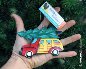 Classic Christmas Car Ornament