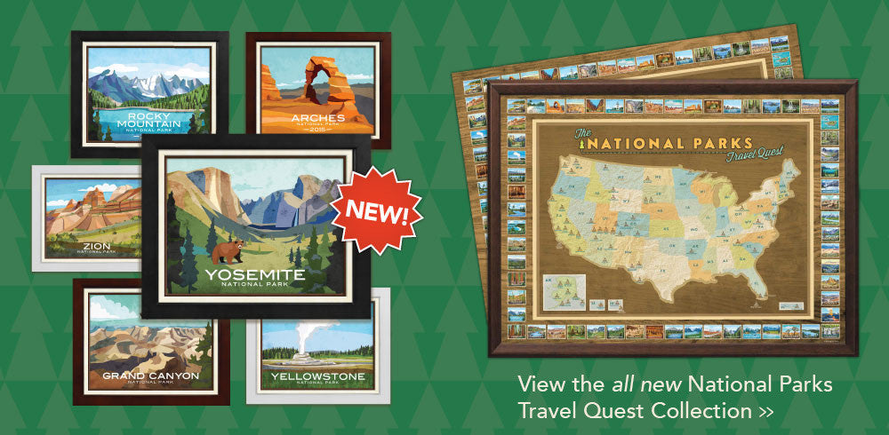 National Parks Travel Quest Collection