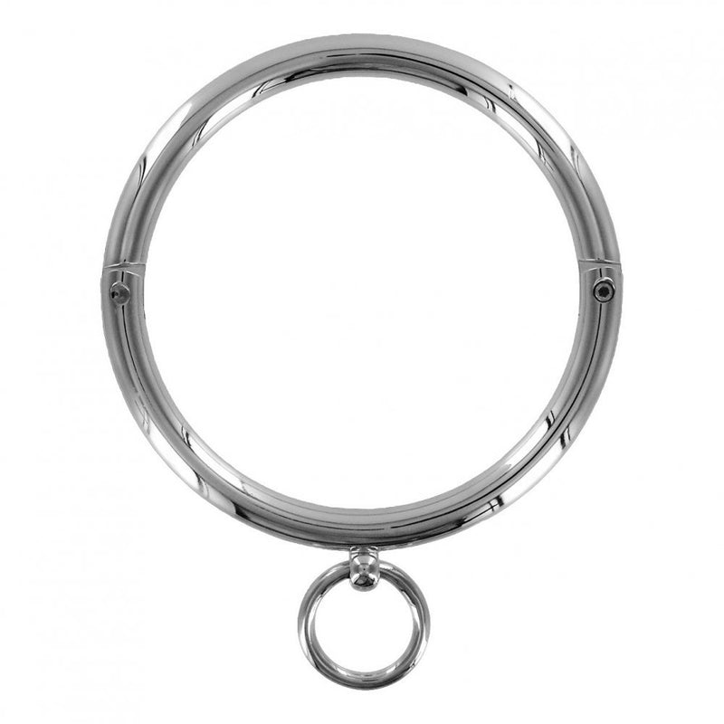 Ladies Rolled Steel Collar with Ring
