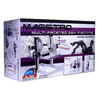 Maestro Multi-Faceted Sex Machine with Universal Adapter