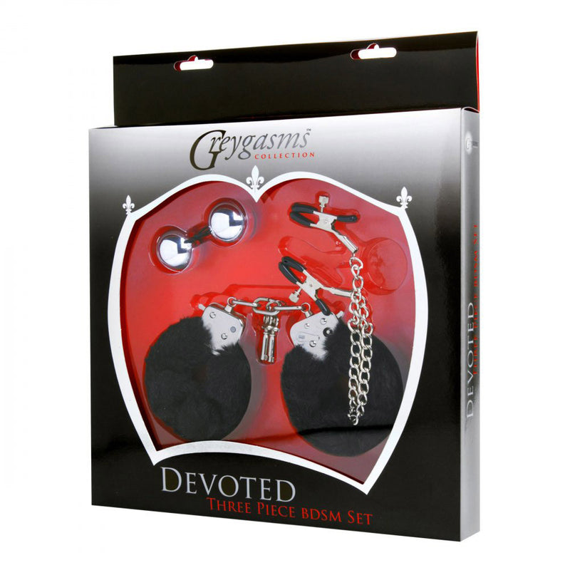 Devoted Three Piece Bedroom BDSM Set