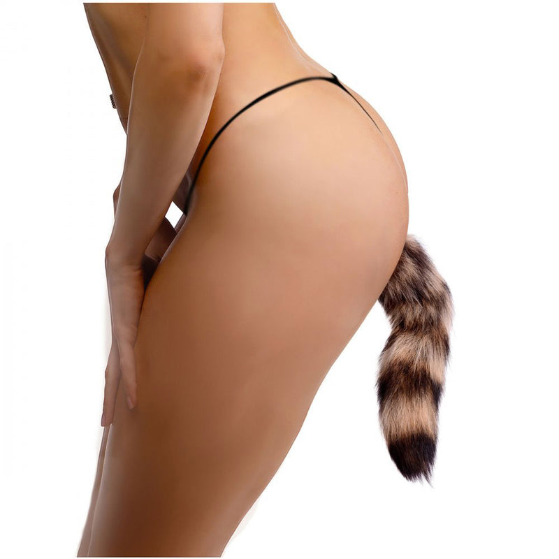Fox Tail Glass Butt Plug By XR Brands