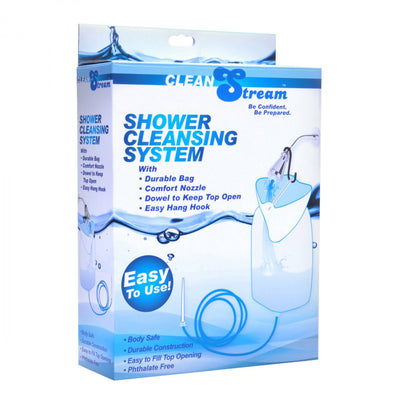 CleanStream Silicone Shower Cleansing System