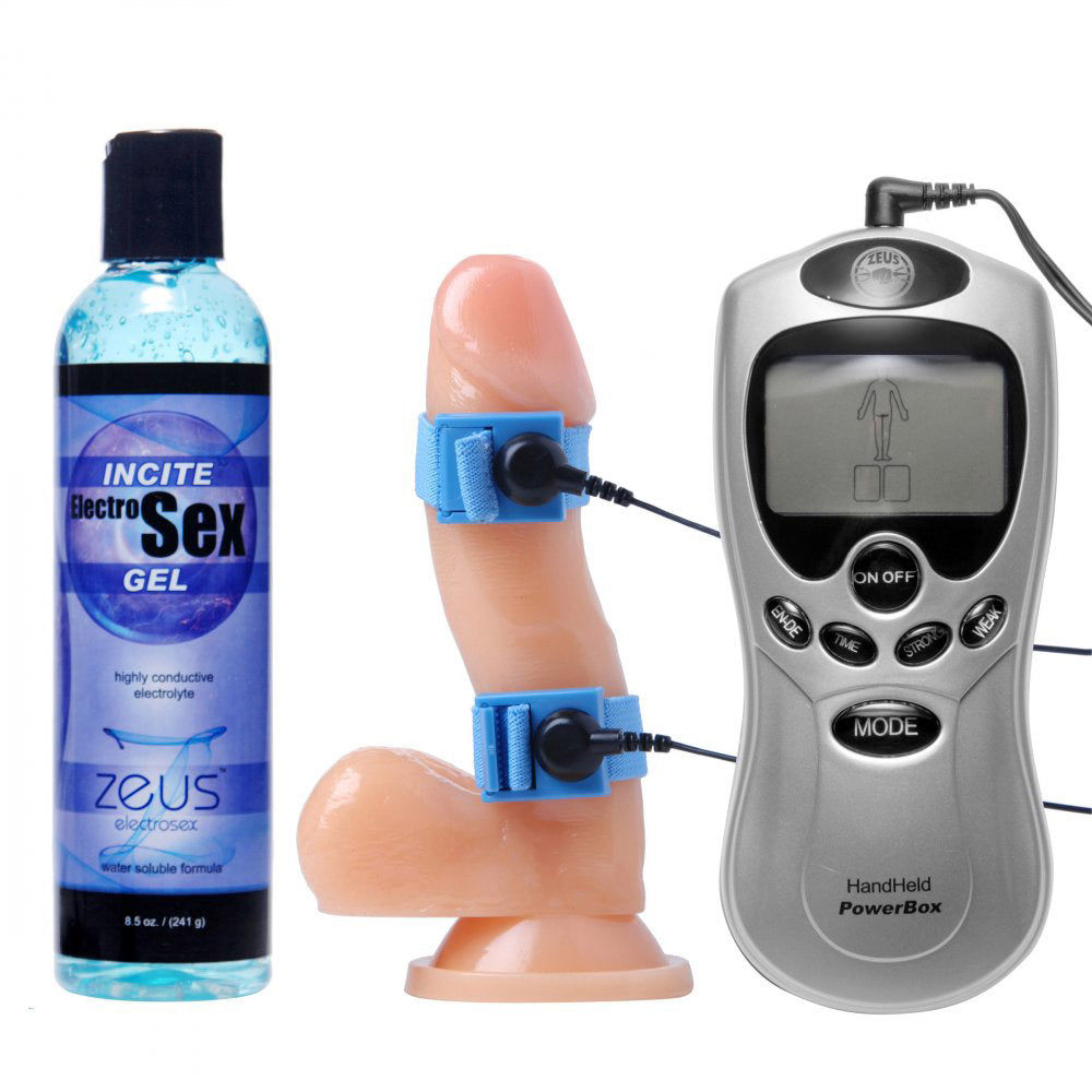 Electrosex Essentials 3 Piece Kit for Him