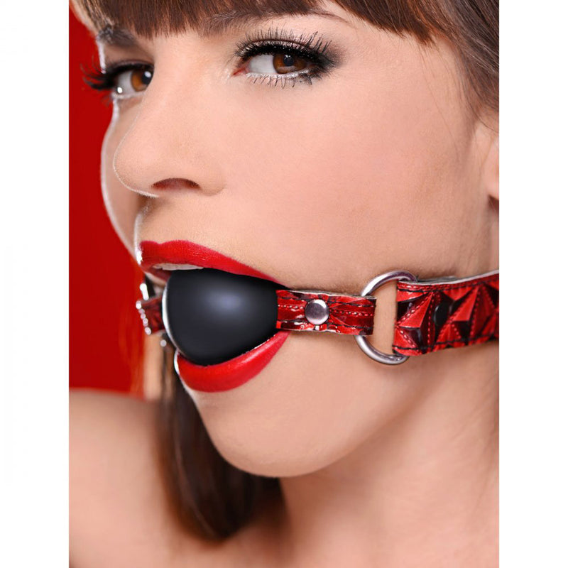 Crimson Tied Triad Interchangeable Silicone Ball Gag