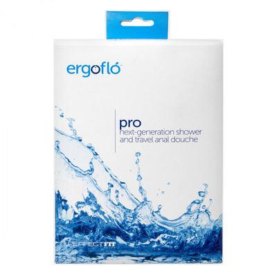 Ergoflo Pro Silicone Shower and Travel Anal Douche