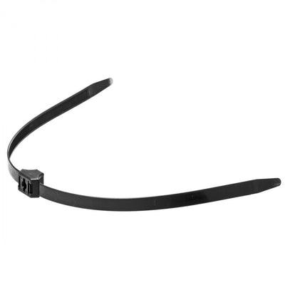Black Zip Tie Police Cuffs- 10 Pack