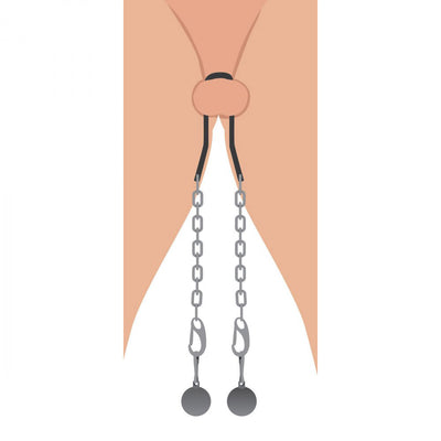 Hitch Metal Ball Stretcher with Chains