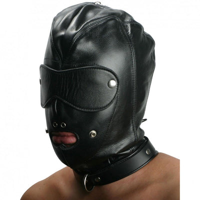 Strict Leather Premium Locking Slave Hood- Small