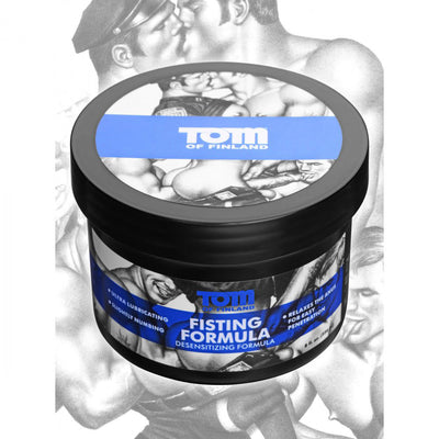 Tom of Finland Fisting Formula Desensitizing Cream- 8 oz