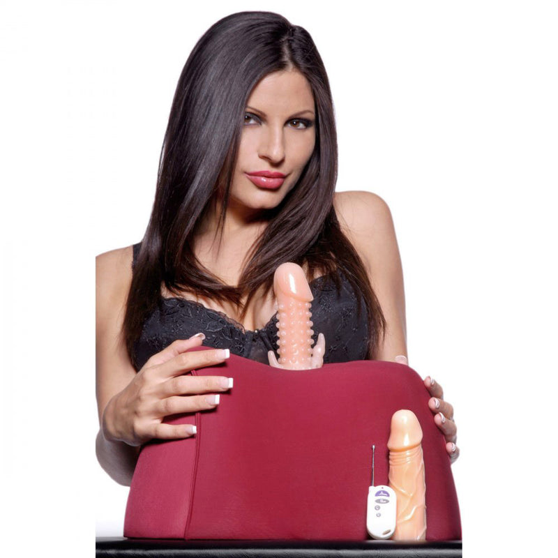 Remote Control Squirting and Thrusting Sex Machine