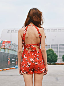 Blossom Floral Playsuit
