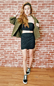 Bandage wrap skirt