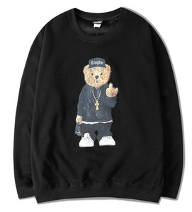 *EXCLUSIVE* Hipster Bear Pullover