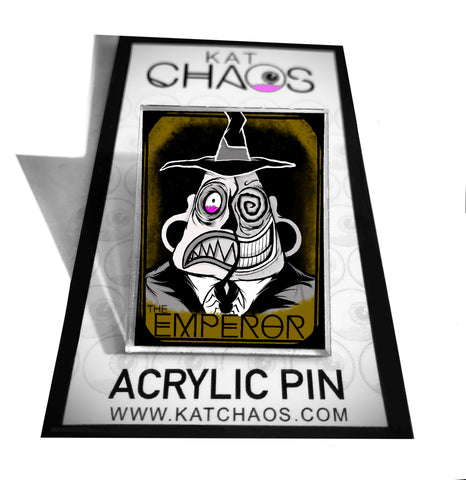 ACRYLIC PIN: THE EMPEROR