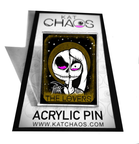 ACRYLIC PIN: THE LOVERS