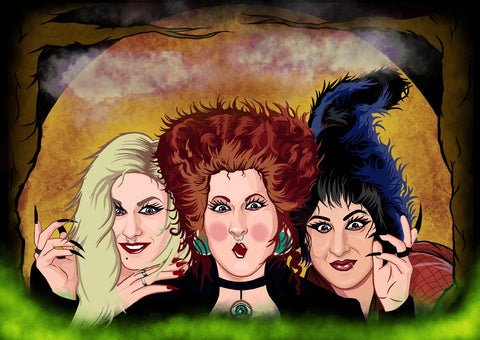 SANDERSON SISTERS COLLAB