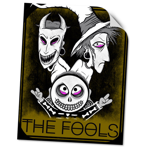 VINYL STICKER: THE FOOLS