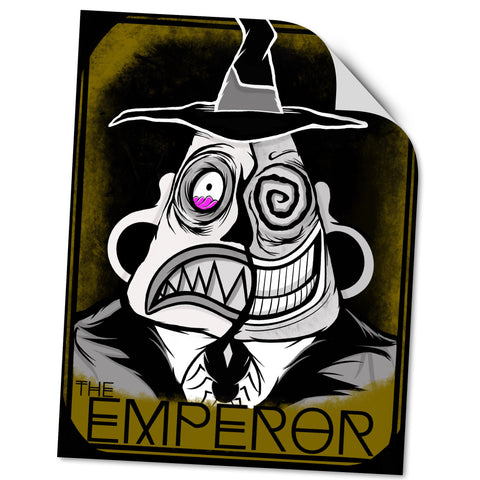 VINYL STICKER: THE EMPEROR
