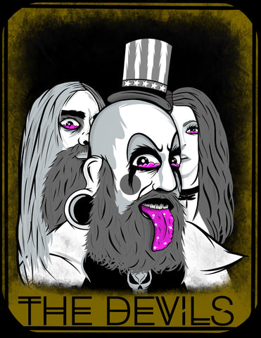 THE DEVILS [REJECTS] TAROT CARD