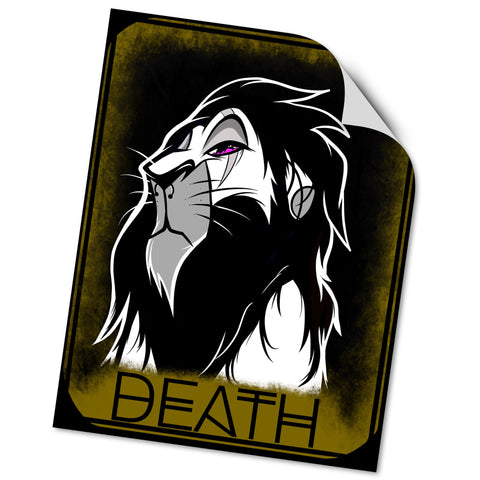 VINYL STICKER: DEATH