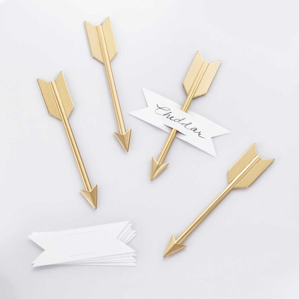brass arrow cheese markers entertaining
