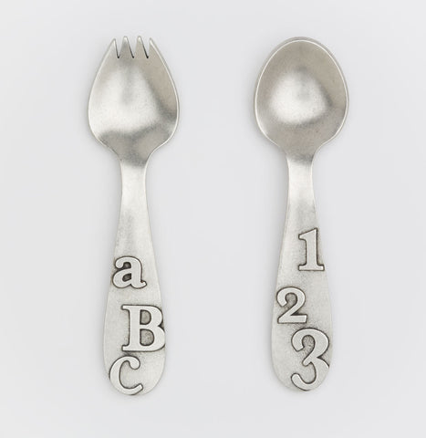 ABC/123 Spoon Set